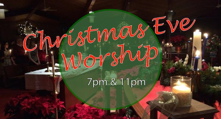 Join us for worship on Christmas Eve 2014 at 7pm and 11pm