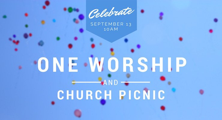 Celebrate Sunday, September 13 at 10am